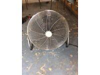 Vintage Chrome Wire Fan