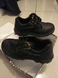 Steel toe cap shoes brand new