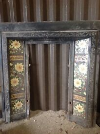 Victorian fire place