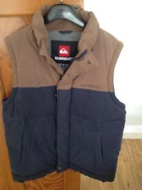 Men's Quicksilver Gilet Size M