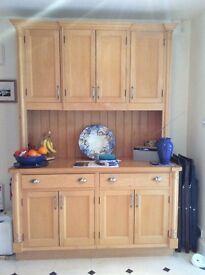Large Handmade Maple Dresser
