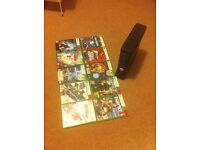 Xbox 360 slim, Kinect + These games and controller