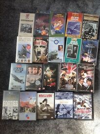 World War Two VHS videos and Dvds