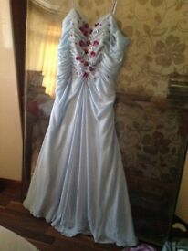 Evening dress in chiffon