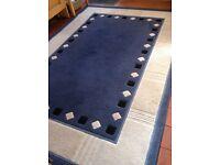 Large Blue Crossley rug
