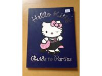 hello kitty guide to parties book