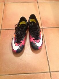 Nike CR7 size 3 football boots