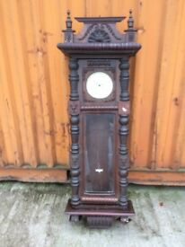 Antique clock and radio