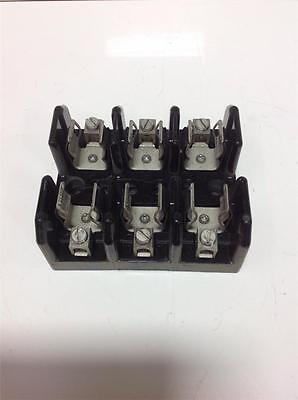 3 POLE FUSE HOLDER W// FPS-R-60 BUSSMAN 60AMP 600V