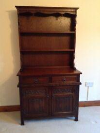 Old Charm Solid Oak Dresser