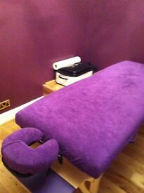 Highly experienced massage therapist offering deep tissue, holistic and stone massages.