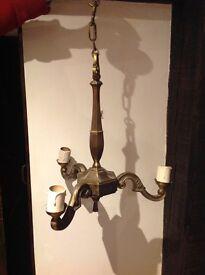3 branch chandelier