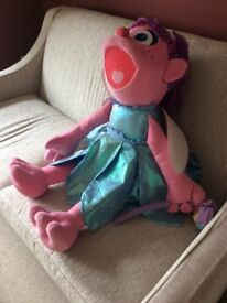 very large fairy teddy addy from seasame Street