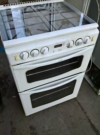 white gas cooker 60cm.....free delivery
