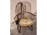 Ercol chairs and two seat settee