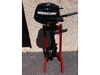 Mercury 3.5hp 4 stroke outboard engine