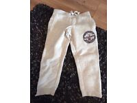 Cream Jogging Bottoms - Aged 5-6 Years