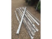 Free used square guttering