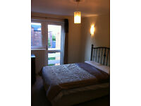 Double room in a lovely top floor 2 bed flat