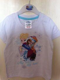 Disney Frozen T Shirt, Size 18 - 24 months - Brand New