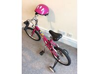 Bycicles for boy and girl