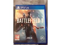 Battlefield 1 PS4 only used once