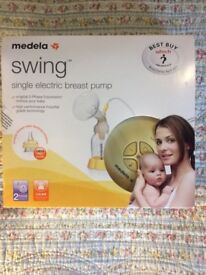 Medela Swing single electric breast pump 2-phase