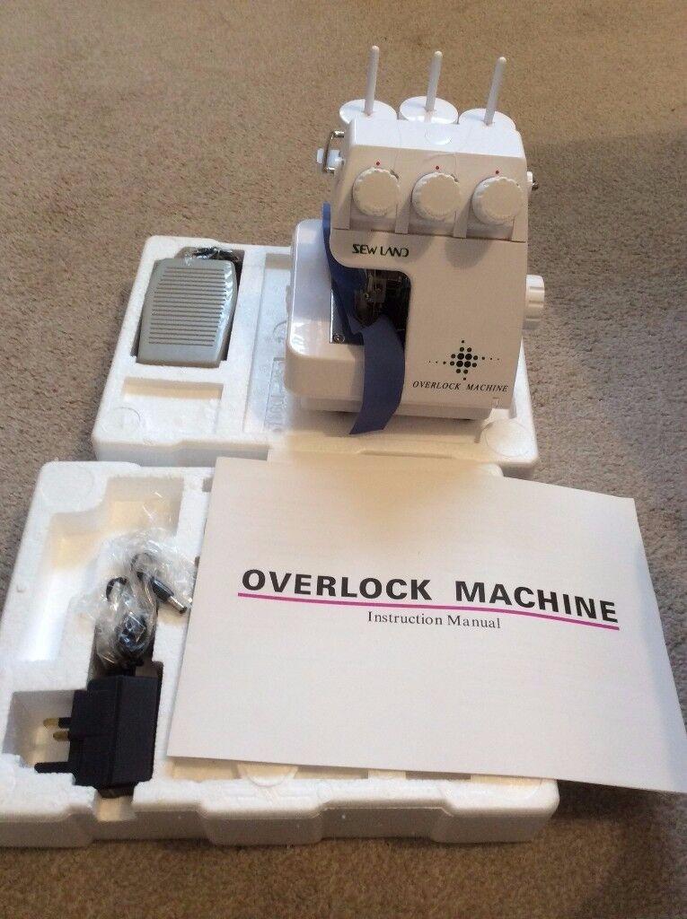 Sewland overlock machine