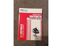 Leckie and Leckie National 5 Textbooks, Chemistry, Physics, Biology