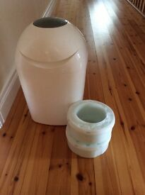 Tommie tippee nappy bin and refill cassettes
