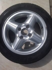99 Ford Fiesta Wheels