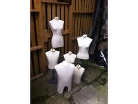 Mannequin busts/dressmaking