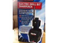 Clarke's drill bit sharpener