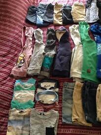 HUGE BUNDLE BOYS CLOTHES AGE 3/4/5