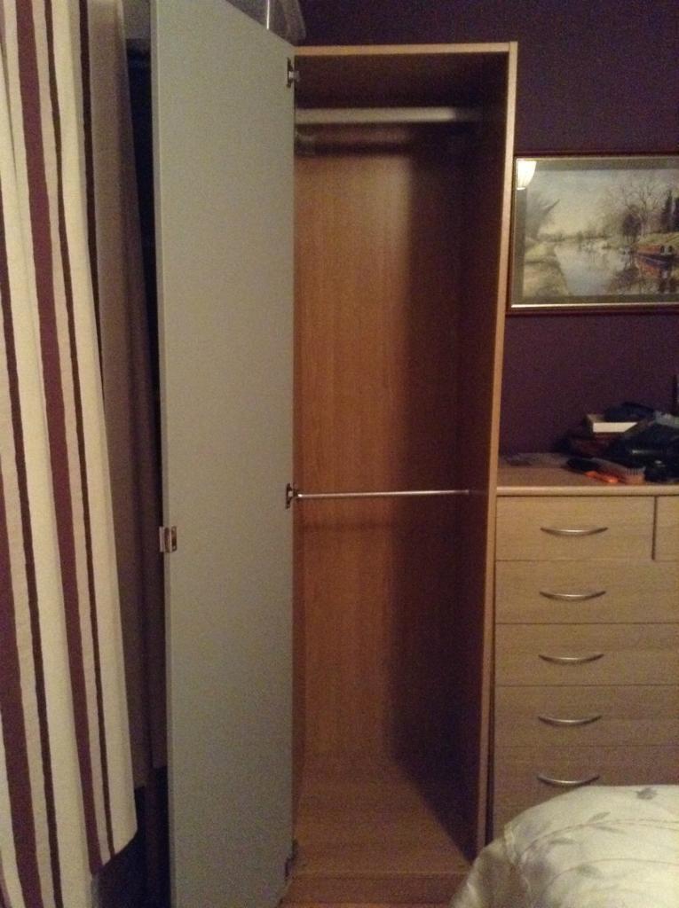 ikea morvik wardrobe purchase sale and exchange ads. Black Bedroom Furniture Sets. Home Design Ideas
