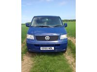 VW T5 Transporter 2005 2.5 TDI 130bhp 6speed 4 Motion 4x4