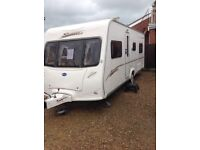 Bailey senator Indiana 2007 4 berth fixed bed