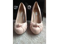 Nude Dorothy Perkins shoes size 5