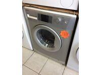 Beko WMB71442S 7kg 1400spin Silver Washing Machine with WARRANTY
