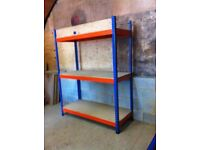 RAPID RACKING RIVETIER WAREHOUSE WORKSHOP SHOP GARAGE SHED BAY SHELVING UNIT