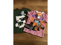 Brand new with tags t shirts 4-5 years