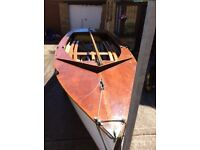 GP14 Wooden Sailing Dinghy