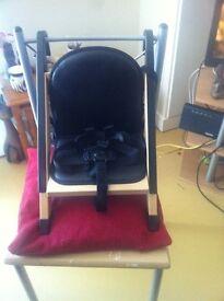 Minuit handysitt portable highchair