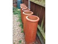 Reclaimed Terracotta Chimney Pots