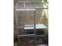 Greenhouse - lean to with bench