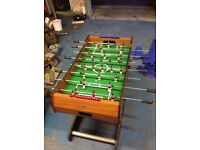Table football foldaway type good condition