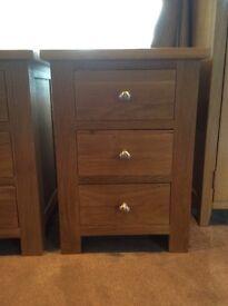 Oak Kingston Bedside Cabinets