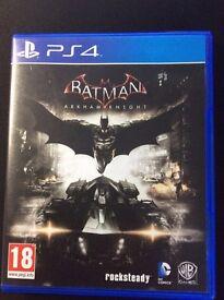 Batman Arkham Knight PS4 MINT condition
