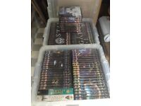 FULL Stargate SG-1 dvd and magazine collection, 90 dvds. PLUS complete SG Atlantis dvd collection