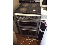 Silver electric cooker three mon guarentee